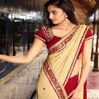 nakkashi Elegance Italian Affair Export designer indian ladies saree