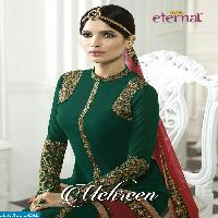 Eternal mehreen Export Embroidered Straight long Suits