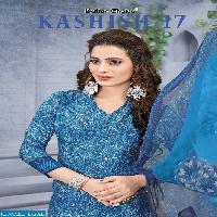 kashish vol-17 Wholesale printed dress material