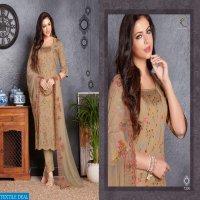 Rakhi Fashion Delight Wholesale Embroidered Dupatta Dresses