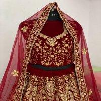 KB-1045 Colour wholesale 9000 Velvet Lehengas Choli