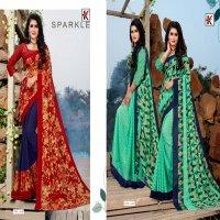 Kodas Jackpot Vol-92 Wholesale Reninal Printed Saree With Pallu