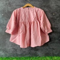 Imported stuff s present embroidery mirror pattern top