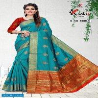 Kodas Zeenat-6080 Wholesale Cotton Silk Designer Sarees