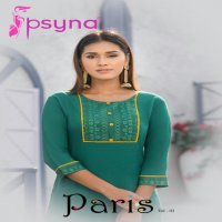 PARIS VOL 3 BY PSYNA RAYON SLUB DAILY WEAR FANCY KURTIS