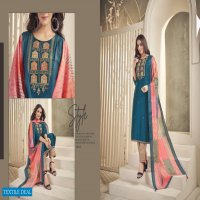 PRISTINE BY SNAPSTYLE SILK KURTI PANT WITH DUPATTA READYMADE COLLECTION