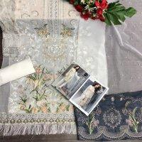 MS PRESENTS D NO 135 GEORGETTE STYLISH PAKISTANI SUITS COLLCTION