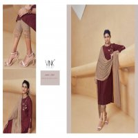 Vink Shimmer Wholesale Full Stitched Kurti With Pant And Dupatta