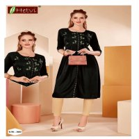 AMIRA BY HETVI HEAVY RAYON WITH WORK KURTI CATLOG COLLECTION
