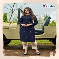 BAWRI BY BONIE HEAVY TOP - PURE VISCOSE SILK PANT - RAYON CATLOG COLLECTIONE WHOLESALE BEST RATE