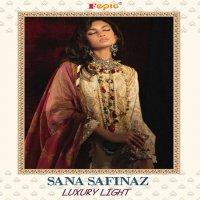 FEPIC SANA SAFINAZ LUXURY LIGHT COTTON DESIGNER FANCY PAKISTANI SUITS