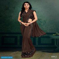 Mehek 294 Colour Wholesale Fancy Indian Sarees