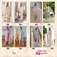 AYESHA ZARA REMIX BY SHREE FABS COTTON PAKISTANI WORK DRESS MATERIALS