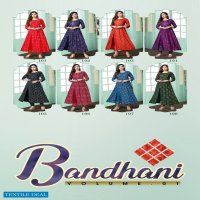 Bandhani Vol-1 Wholesale Designer Long Kurtis