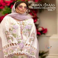 ADAN LIBAAS SCHIFFLI VOL 7 BY SHREE FABS LAWN COTTON PAKISTANI DRESSES