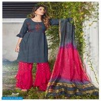 Parra Mausam Wholesale Full Stitched Sharara Kurti And Pants