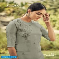 MASKEEN SILK TIME ZUAAN EXCLUSIVE FANCY TOP WITH BOTTOM COLLECTION