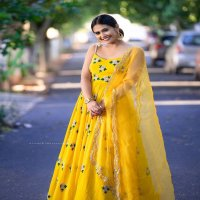 NEW STYLISH GEORGETTEWITH WORK DESIGNER GOWN COLLECTION