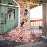 ALFAAZ VOL  4 FLORAL PRINTED GIRLISH  DESIGNER STYLISH LEHENGA CHHOLI COLLECTION