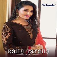 7 Clouds Rang Tarang wholesale Straight Long Salwar Kameez