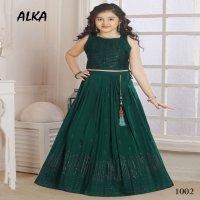 Alka Shaily Wholesale Designer Kidswear lehengas