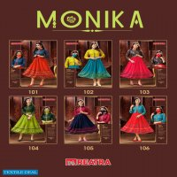 Reatra Monika Wholesale Designer Short Flare Kurtis