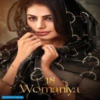 18 ATTITUDE BY AASTHA FASHION WOMANIYA WHOLESALE KURTI PANT AND DUPATTA COLLECTION
