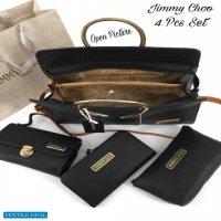 Jimmy Choo ladies purse 4 pieace Combo Wholesaler