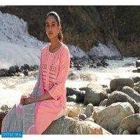 Kalki Kashmika Wholesale Pure Viscose Full Stitched Dress