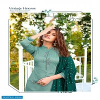 Ladies Flavour Aarohi Vol-4 Wholesale Full Stitched Top With Pants And Dupatta