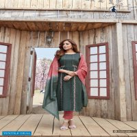 Ladies Flavour Aarohi Vol-5 Wholesale Full Stitched Top With Pants And Dupatta