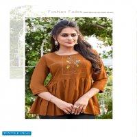 Ladyview Cool Crush Vol-2 Wholesale Embroidered Reyon Short Kurtis
