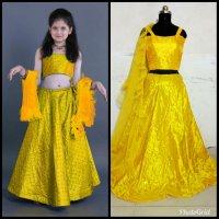 Launching New Designer Kids lehenga choli wholesale in india