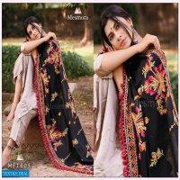 Mesmora Jassi Khadi Embroidered Shawl Or Dupatta