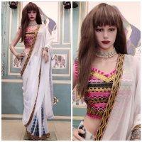 Mouni White Saree Vol 1 Wholesale in India