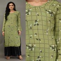 Printed kurti plazzo vol 12 wholesale in India