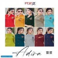 Rung Adira Wholesale 14 kg reyon Short Kurtis