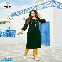 STC Glorious Wholesale Designer Kurti With Pant