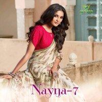 Sanskar Nayna Vol-7 Wholesale Casual Indian Saree