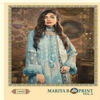 Shree fab maria b m print vol 6 d no 1442 cotton exclusive print cotton dupatta salwar suit