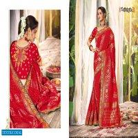 TATHASTU 4001-4011 SERIES WEDDING BRIDAL WEAR SILK SAREE COLLECTION