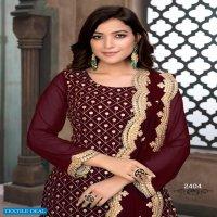 Twisha Aanaya Vol-124 Wholesale Festive Salwar Kameez