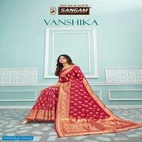 VANSHIKA BY SANGAM PRINTS COTTON HANDLOOM GOOD LOOKING SAREE