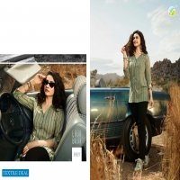 VINAY FASHION PRESENTS ONLY TOP RAYON SLUB PRINT JEANS SHORT TOPS FOR GIRLS