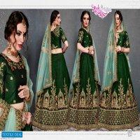 Zeel Roohbab Wholesale Heavy Velvet Lehenga Choli