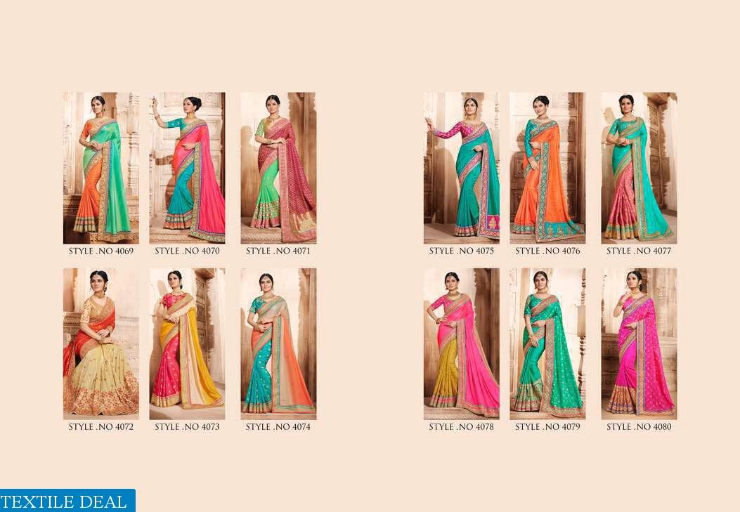 nakkashi Euphony Wholesale party-wear Ethnic Saree