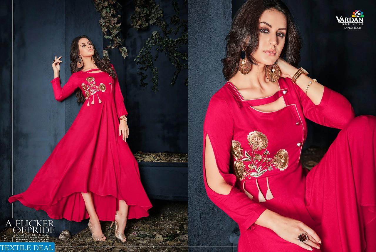 Vardan Gulnaz vol-1 Wholesale ready made gowns  kurtis
