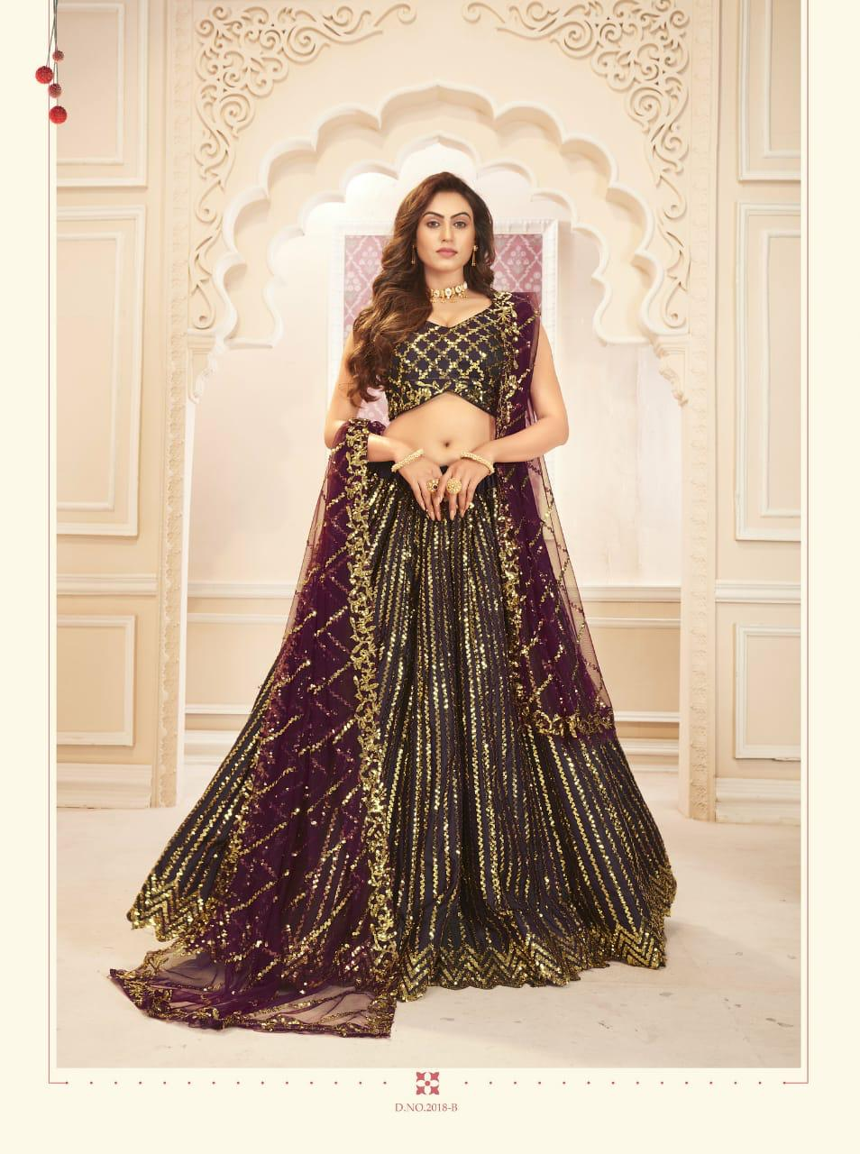 Senhora Sakhi Bridal Heritage Vol-7 Wholesale Bridal Lehengas