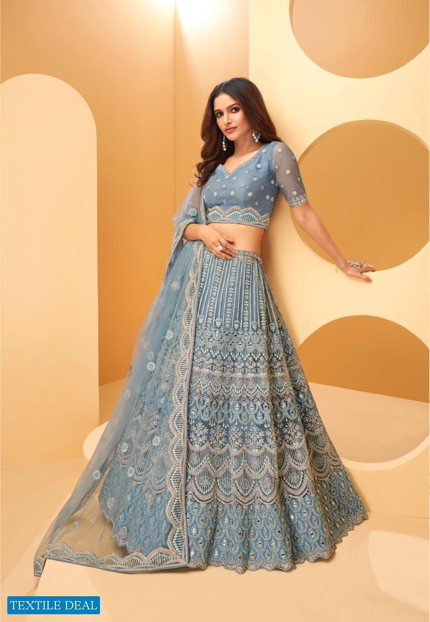 Alizeh Wedding Affair Wholesale Designer Lehengas Choli