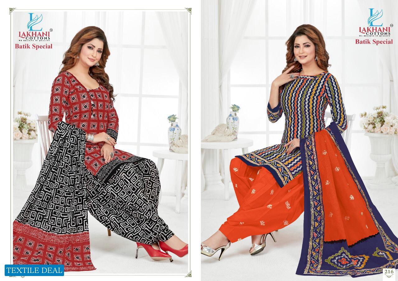 Lakhani Batik Special Vol-2 wholesale Cotton Printed Dress Material